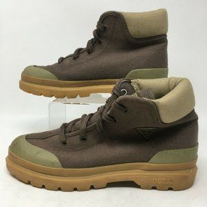 G By Guess Womens Hiking Boots Lace Up High Top Sn